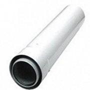 Дымоходы BAXI 60/100 Коаксиальная труба с наконечником антиобледенительное исполнение фото