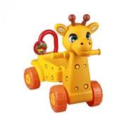 "Каталка детская ""Жираф"" (желтый) фото"