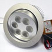 Встраиваемый светодиодный светильник-спот фото