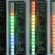 Многоцветный светодиодный индикатор уровня фото