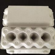 Бумажная упаковка для куриных яиц фото