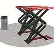 StratosS39(OMA530C)_red Подъемник ножничный короткий г/п 4000 кг. заглубляемый фото