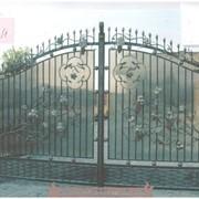 Кованые изделия: ворота, калитки, заборы, козырьки, мангалы .... фото