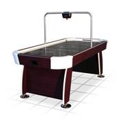 """Игровой стол - аэрохоккей """"Miami"""" 7 ф (махагон, электронное табло) фото"""
