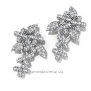 Серьги с бриллиантами E29332-3