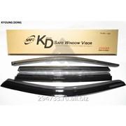 Дефлектор окон черный по 3 компл в упаковке Kyoung Dong, кросс_номер 822517100 фото