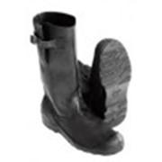 Сапоги мужские юфтевые с металлическим защитным носком фото