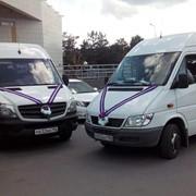 Заказ автобуса Мерседес Спринтер на свадебные торжества
