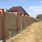 Строительство забора из француза в Севастополе фото