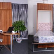 Шкаф кровать 120 см со столом фото