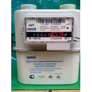 Счетчик газа мембранный METRIX G-4Т с термокомпенсатором фото