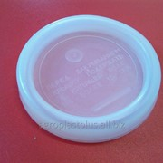 Крышка пластиковая горячего закрытия ГОСТ d=82 КГ-1 фото