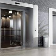 Алюминиевый профиль для обрамления шахтных дверей и кабин лифтов, плинтусов и панелей фото