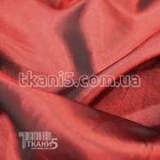 Ткань Тафта хамелеон ( бордовый ) 1489 фото