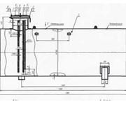 Подземная емкость для сжиженных углеводородных газов, резервуар для пропан-бутана, газовая емкость фото