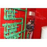 Полный комплекс работ по установке систем отопления: фото