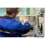 Монтаж систем отопления с применением стальных трубопроводов производится также с изготовлением монтажных узлов в цехе. фото