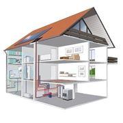 Отопление дома коттеджа - продажа монтаж обслуживание. фото