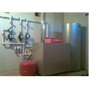 Монтаж систем отопления и ГВС фото