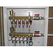 Монтаж систем отопления и водоснабжения дома или дачи. фото