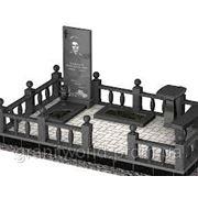 Памятники из гранита для одного (Образец №194) фото
