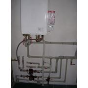 Протяжка систем отопления фото