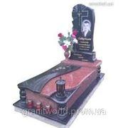 Памятники ганитные одинарные (Образцы №206) фото