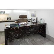 Столы для офисов из природного камня фото