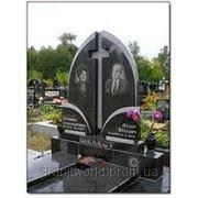 Памятники гранитые для двоих (Образцы №417) фото
