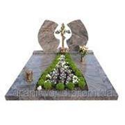 Памятники гранитные эксклюзивные (Образец №195) фото