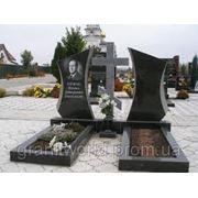Двойные памятники (Образцы №413) фото