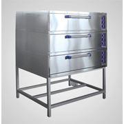 Шкаф пекарский Abat ЭШ-3К (лицевая нерж.) фото