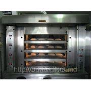 Печь Подовая Хлебопекарская, на газе или на прессованных пеллетах фото