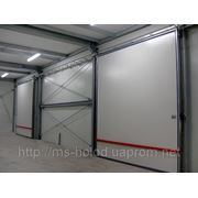 Двери холодозащитные распашные одностворчатые 900х2100 фото