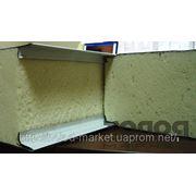 Сендвич-панель (сэндвич) (пенополиуретан (ППУ), пенополистирол (ППС), базальтовые) фото