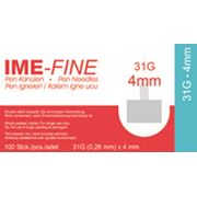 Игла ИМЕ-ФАЙН ( IME-FINE ) для шприц-ручек 31G*4mm фото