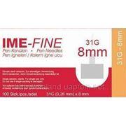 Игла ИМЕ-ФАЙН ( IME-FINE ) для шприц-ручек 31G*8mm фото