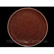 Ляган. Узбекская посуда. Самарканд. d~36 см фото