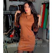 Платье перед карманы фото