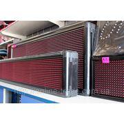 """Табло,вывеска LED """"бегущая строка"""" BX-5U красный цвет, размер 0,96х0,32 м. фото"""