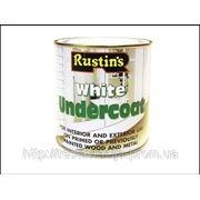 Rustins White Undercoat 250ml фото