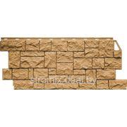 Фасадная панель Камень песочный фото
