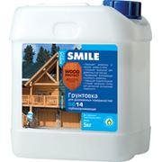 Грунтовка акриловая для деревянных поверхностей «SMILE®WOOD PROTECT®» SG-14 фото