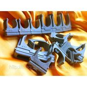 Крепеж для гофротруб и кабеля от 16 до 50 mm 6 типоразмеров фото