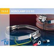 Спиральный хомут с заземлением для присоединения внешне гофрированного спирального шланга NORCLAMP 212 EC фото