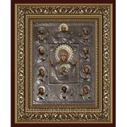 Икона Богородица Знамение Курская фото