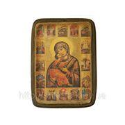 Икона Богородица Умиление ХVII в. фото