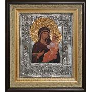 Икона Богоматерь Иверская c предстоящими святыми Матвеем и Лукой фото