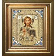 Икона Иисус Христос (к паре Казанская) фото