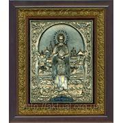 Преподобный Сергий Радонежский ростовая икона фото